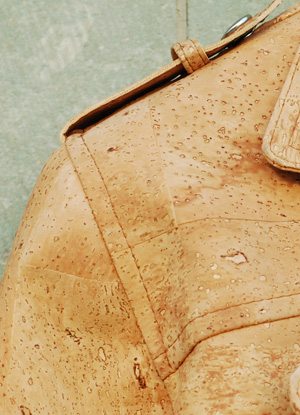 terials cork jacket detail